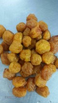 Plums dried