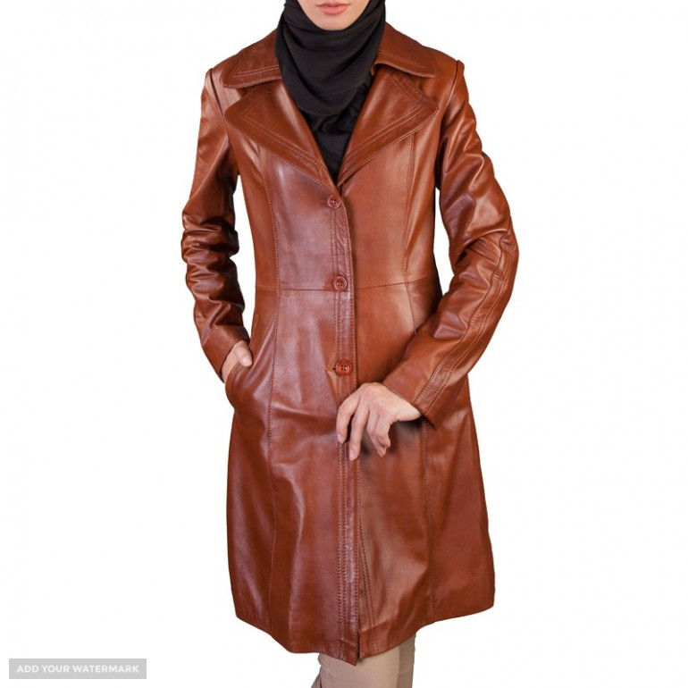 Iranian Women's leather jacket