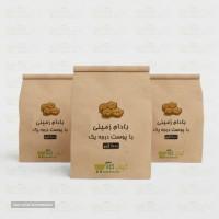 بادام زمینی با پوست درجه 1 آستانه اشرفیه مخصوص صادرات