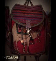 Kilim Rug Backpack