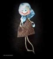 Knot Doll Grandmather For Export