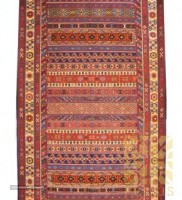 Korasan rug Nobaft with Sirjan kilim design For Export