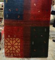 Gabbeh rug (4- frame design)