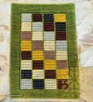 Gabbeh rug (Kheshti design)