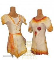 Felt dress for export