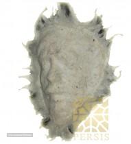 White felt mask