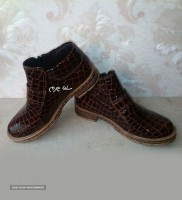 leather anckle boots for men and women