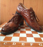 leather shoes for men for export