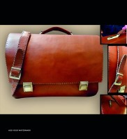 diplomat leather briefcase