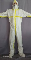 Medical protective overall clothing