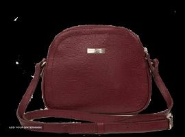 کیف دوشی زنانه S5028 زرشکی