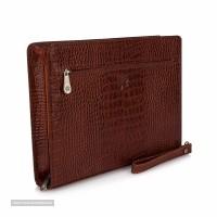 کیف چرم زنان صادراتی مدل فولدر آیرون