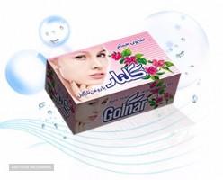 صابون  صادراتی گلنار حمام رنگی