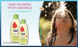 BABY SHAMPOO WITH CAMOMILE FOR EXPORT