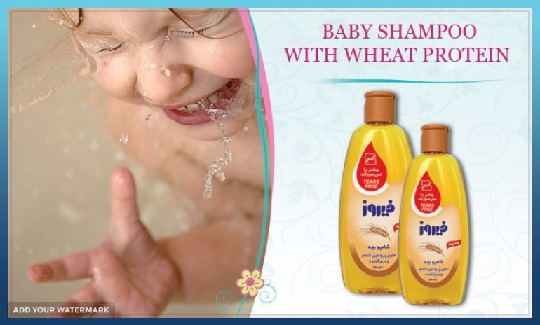 BABY SHAMPOO WITH WHEAT PROTEIN FOR EXPORT