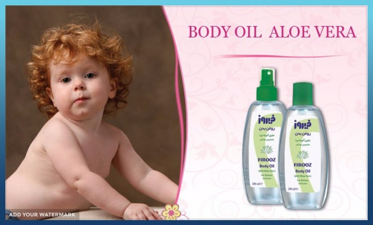 BABY OIL WITH ALOE VERA EXTRACT FOR EXPORT